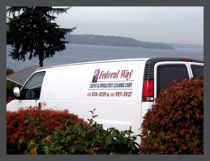 carpet cleaners federal way, van